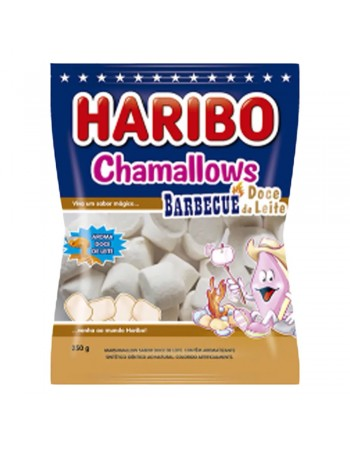 Haribo Chamallows Barbecue Doce de Leite 250g