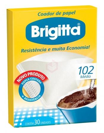 Coador Melitta Brigitta 102 6 Caixas com 30 Unidades