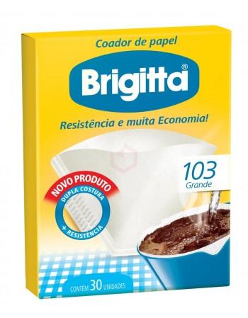 Coador Melitta Brigitta 103 6 Caixas com 30 Unidades