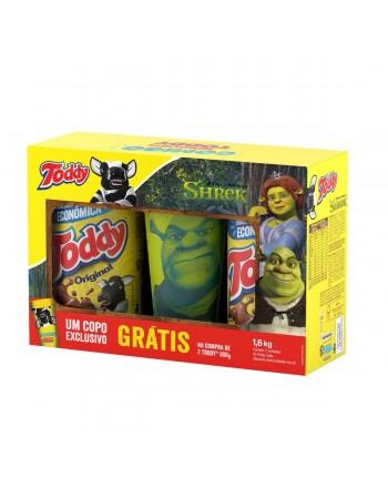 Achocolatado em Pó Toddy Promocional Leve 2 800g Copo Shrek Grátis