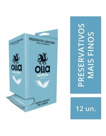 Preservativo Olla Sensitive 12x3 Unidades