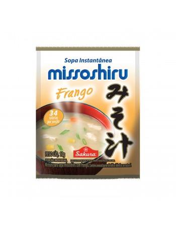 Missoshiru Instantânea Frango 20x10g