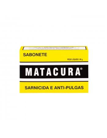 Sabonete Sarnicida e Anti Pulgas Matacura 80g