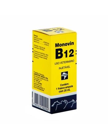 Monovin B12 Antianêmico Injetável 20ml