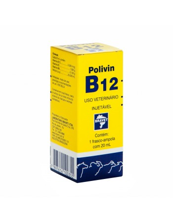 Polivin B12 Injetável 20ml