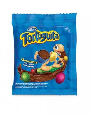 Confeito Tortuguita Chocovinho 10x50g