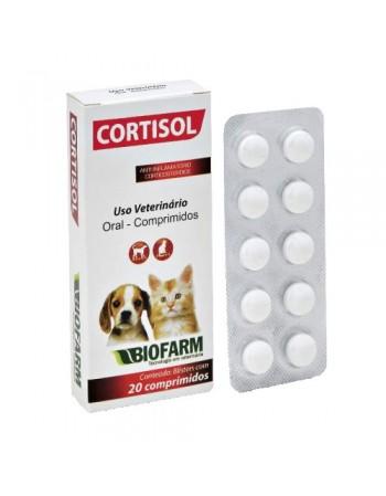 Cortisol Comprimidos - com 20