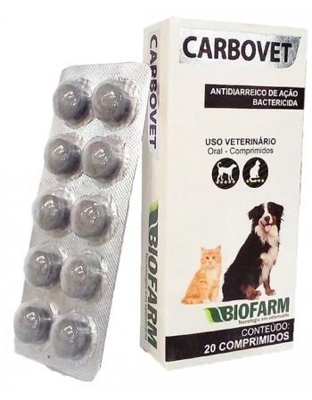 Carbovet c/20 comprimidos