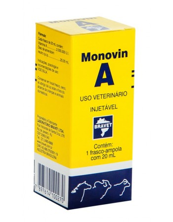 Monovin A Injetável 20ml