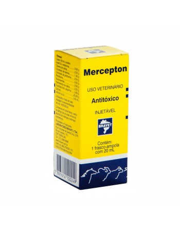 Antitóxico Mercepton Injetável 20ml