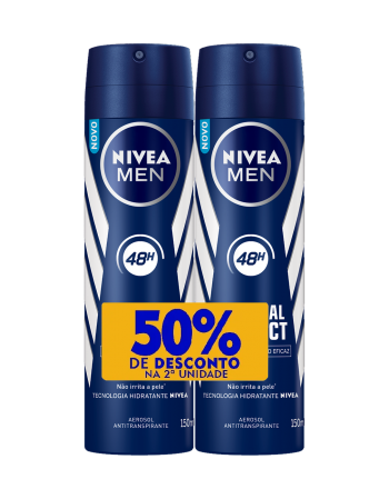 Nívea Aerosol Original Duopack com 50% 150ml