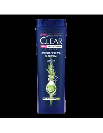 Shampoo Clear Men Anticaspa Contra Coceira 400ml