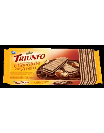 Triunfo Wafer Chocolate com Avelã 115g