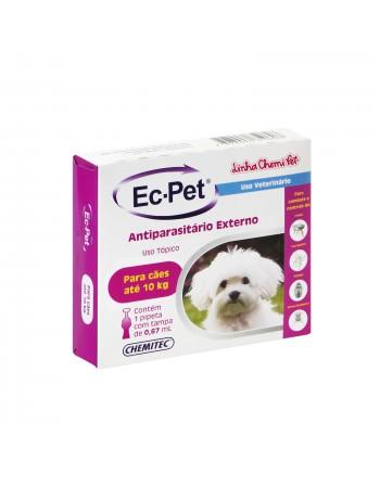 Antiparasitário Ec-Pet até 10kg