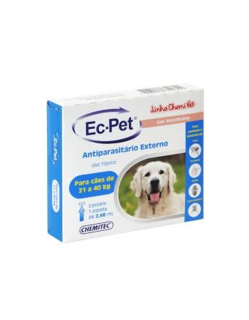Antiparasitário Ec-Pet de 21 a 40kg