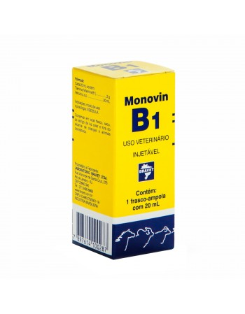 Monovin B1 Injetável 20ml