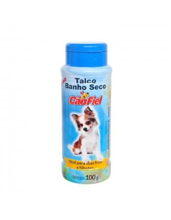 Talco de Banho Seco Cão Fiel 100g