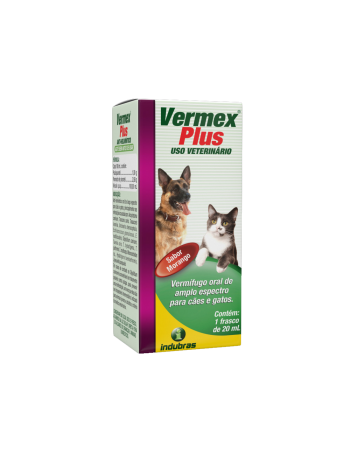 Vermífugo Vermex Plus 20ml