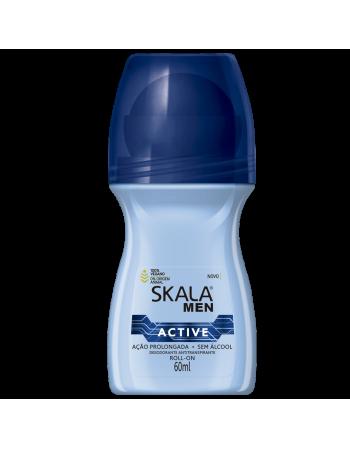 Skala Desodorante Roll On For Men Active 60ml