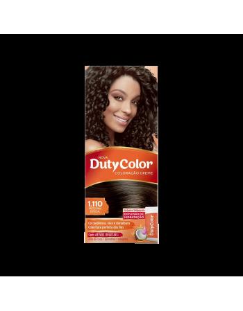 Duty Color Coloração Creme 1.110 Preto Ônix Special