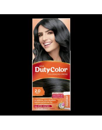 Duty Color Coloração Creme 2.0 Preto