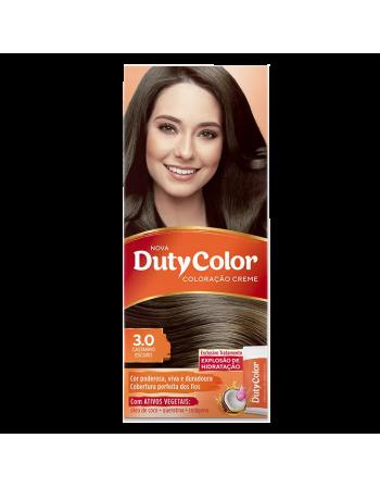 Duty Color Coloração Creme 3.0 Castanho Escuro