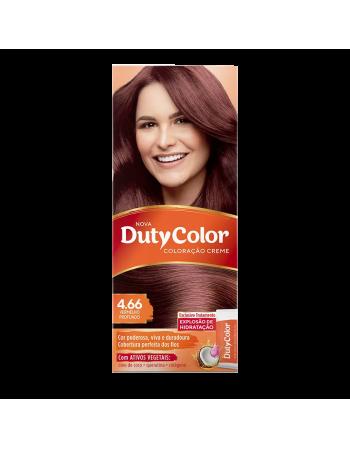 Duty Color Coloração Creme 4.66 Vermelho Profundo