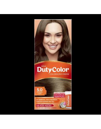 Duty Color Coloração Creme 5.0 Castanho Claro