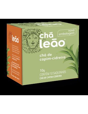 Chá Leão Capim Cidreira 10x1g
