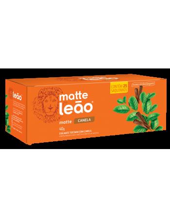 Chá Matte Leão com Canela 25x1,6g