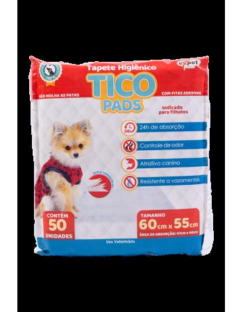 Tapete Higiênico Tico Pads 60x55 c/50