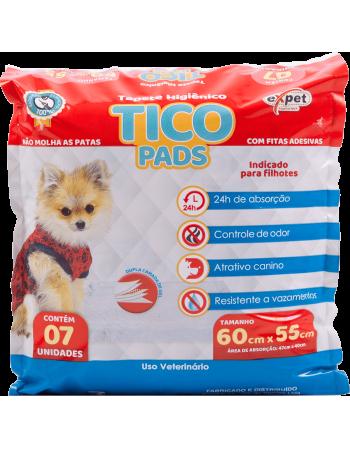 Tapete Higiênico Tico Pads 60x55 c/7