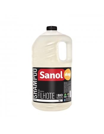 Shampoo para Filhotes Sanol 5L