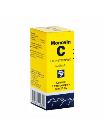 Monovin C Injetável 20ml