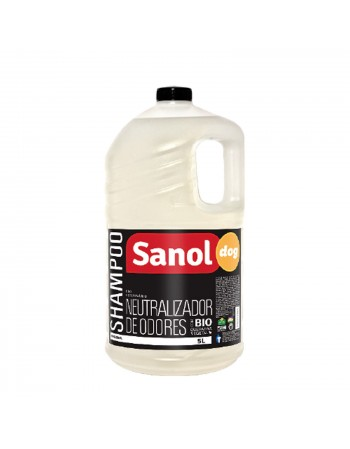 Shampoo Neutralizador de Odores Sanol 5L