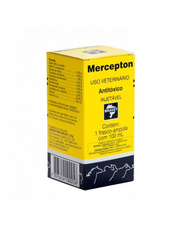 Antitóxico Mercepton Injetável 100ml
