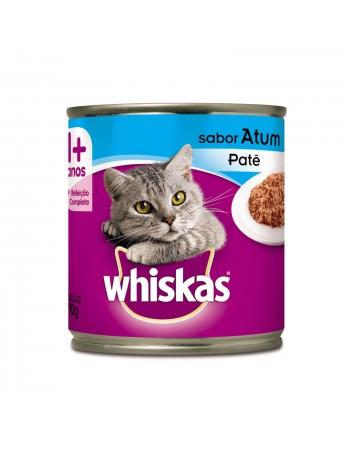 Ração Whiskas Patê em Lata sabor Atum para Gatos Adultos 290G