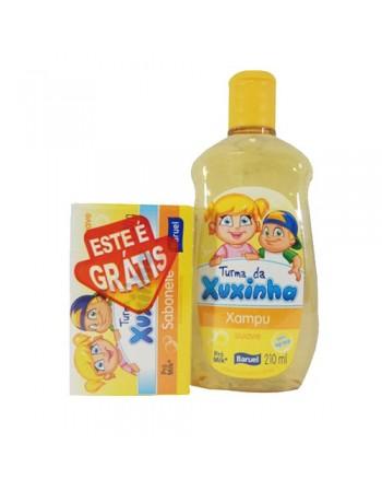 Xuxinha Xampu Suave 210ml Grátis Sabonete Suave