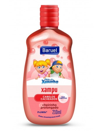 Xuxinha Xampu Cabelos Cacheados 210ml